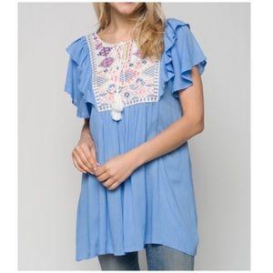 Tops - PLUS SIZE 1X-3X Tunic/Dress